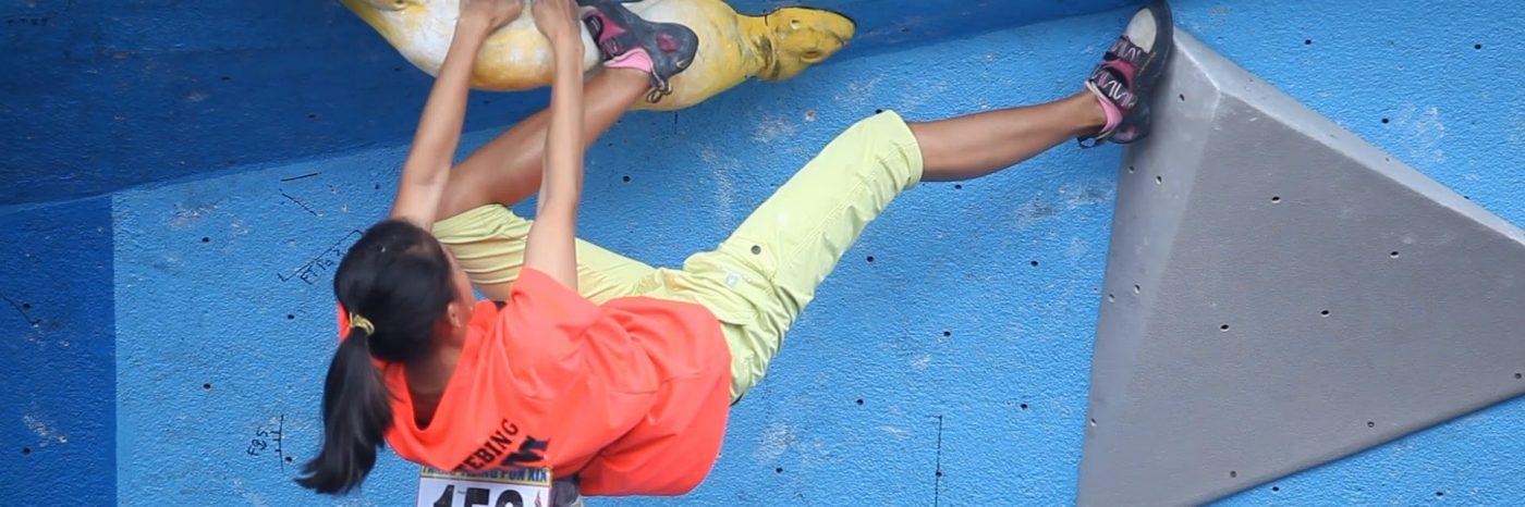 PON XIX JABAR - Final Boulder Perorangan Putri