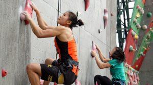 Atlet China berlatih nomor speed