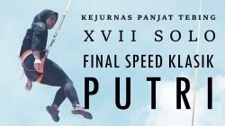 VIDEO | Final Speed Klasik Putri Kejurnas XVII 2018