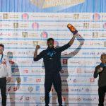 IFSC Moscow 2019 (1) | Aspar meraih perunggu di IFSC Climbing Worldcup Mowsco, Jumat (12/4). (Foto: Hendra Nurdiyansyah)