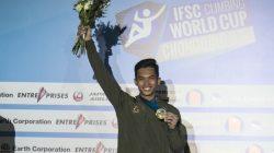 Indonesia Juara Dunia di IFSC Climbing Chongqing, China