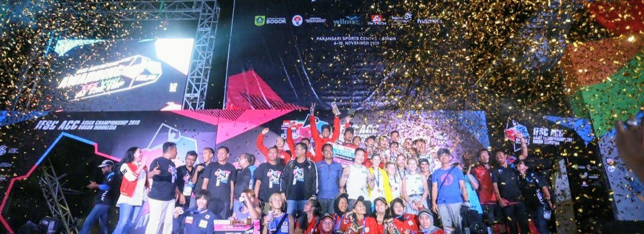 Asian Championship 2019 - Penyerahan Medali dan Closing Ceremony