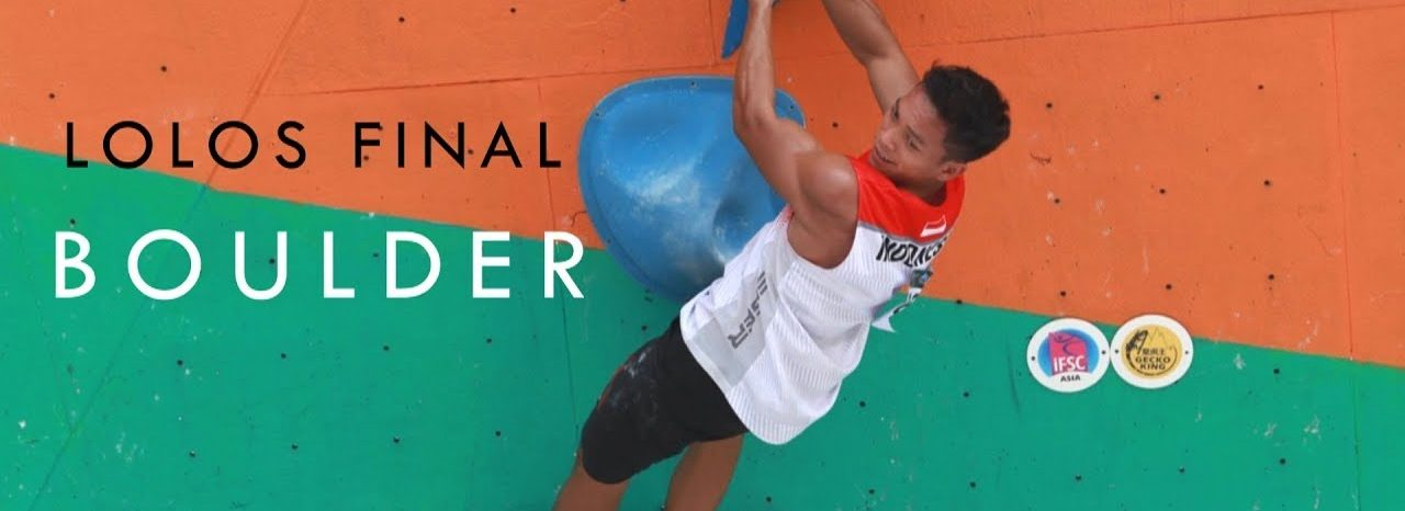 VIDEO | Asian Championship 2019: Lolos Final Boulder